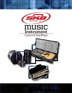 SKB专业乐器防护箱产品手册